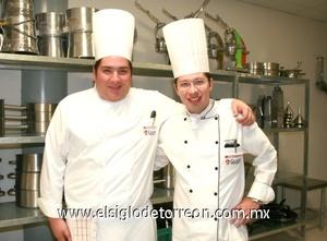 El chef ejecutivo Salvador Morales, de la Universidad UVM-Glion.
