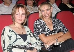 Marcela de Sotomayor y Elizabeth de Fernández.