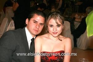 Alberto Madero y Lorena Murillo.
