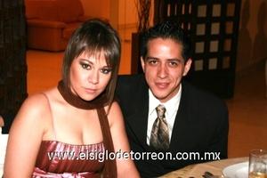 Daniela Díaz Flores y Juan Antonio Rodríguez.
