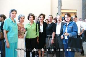 Carmelita Leal, Mavisa Rodríguez Garza, Yosy Reinoard de Iriarte, Sonia Salum, -----Salvador Valencia De Anda y Yeye Romo.