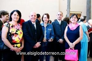 Julia Meléndez, Armando Guerra, Yeye Romo, Juan José Fernández Torres.