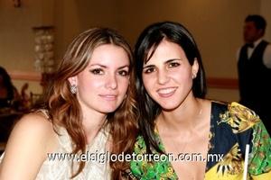 Regina Madero y Zaida Faccuseh.