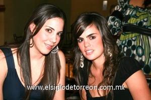 Daniela Martínez y Marytere Jiménez.