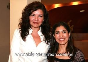 Lourdes Bernal y Ana Sofía García Camil.