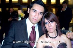19102008 Arturo Braña y Caroll Sánchez.
