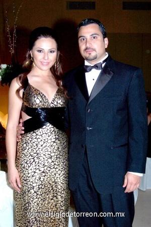 19102008 Fernanda Álvarez y Alberto Villalobos.