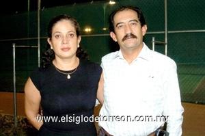 19102008 Leticia Canel y Alejandro Fernández.