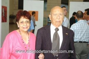 19102008 Mario Gutiérrez Láinez y María Elena Gutiérrez de Kmostinec