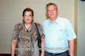 19102008 Miguel Urtiaga y María Cristina Marrero.