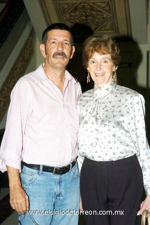 22102008 Gonzalo Hinojosa y Carmen Córdova