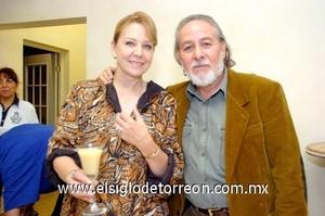 26102008 Bibi Guerra y Héctor Moreno.