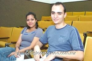 28102008 Priscilla Rodríguez y Eduardo Mourey