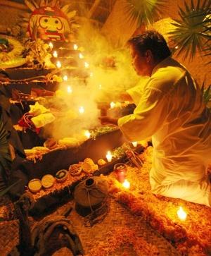 Música,  rituales, ofrendas y muestras gastronómicas tratan de mostrar los orígenes de esta fiesta milenaria, considerada por la Unesco una obra maestra del patrimonio cultural de la humanidad.