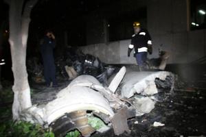 Algunos de los heridos eran transeúntes y algunos más conducían sus vehículos al momento en que la aeronave se desplomó.