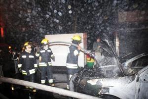 Mil 200 personas fueron evacuadas de los inmuebles aledaños al lugar del accidente, los cuales en su mayoría son oficinas que en ese momento se encontraban laborando.