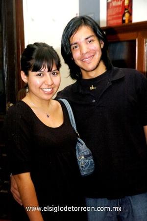 02112008 Blanca Liz Hernández e Iván Landaverde.
