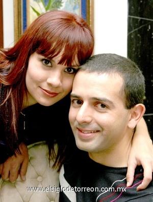 05112008 David y su esposa Alejandra Guerrero de Muñoz