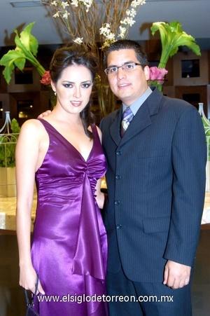 05112008 Selene González y Jorge del Bosque