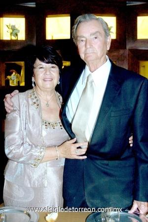 05112008 Señores Silvia Romo de Cruz y David Cruz Barba, celebraron sus bodas matrimoniales