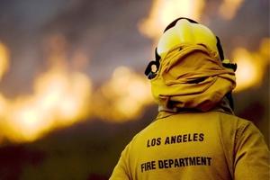Los vientos secos provocaron que llamas fuertes arrasaran parte de los montes del sur de California, destruyendo cientos de casas y forzando a miles de personas a evacuar la región.