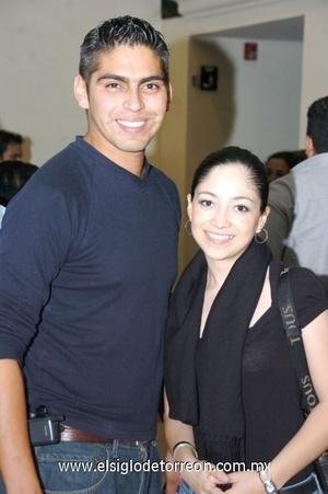 09112008 Gaby Romo y Emilio Juárez