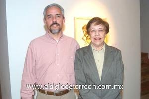 09112008 Marcelo Ducolombier y María Elena Arenal