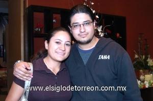 11112008 Cristina Salazar Montoya y Juan de Dios Vázquez.