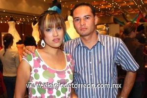 11112008 Sol Rodríguez y Nelson Ramírez.