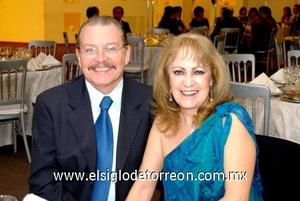 16112008 Jorge González y Paty Martínez