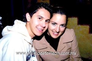16112008 Luis Martínez y Natalia Marroquín.