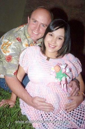 20112008 Denisse Dayley, recibió fiesta de regalos por el próximo nacimiento de su bebé