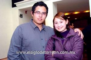 23112008 Ángel Santana Huerta y Miriam Hernández Moreno