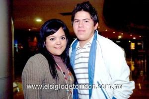 23112008 Fátima Valdivia y Ángel Muñoz.