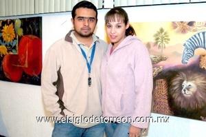 23112008 Omar Romero y Fabiola Ramírez