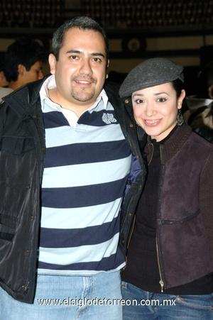 26112008 Andrés Cárdenas y Marcela Garza
