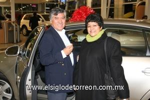 26112008 José Mujica Castrejón y María Antonia Salinas