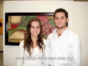 30112008 Ángela Mourey y Guillermo Dávila.