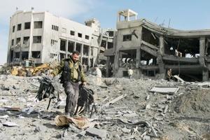 Israel lanzó unos 250 bombardeos aéreos en las primeras 24 horas de la campaña.