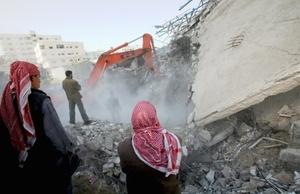 La mayoría de los muertos son policías uniformados de la organización islámica Hamas.