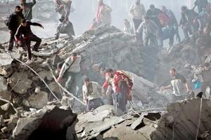 Se estima que 315 palestinos han muerto en los ataques israelíes.
