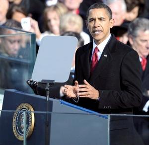 En su discurso apeló a los valores fundamentales de su país para comenzar un nuevo capítulo en su historia.