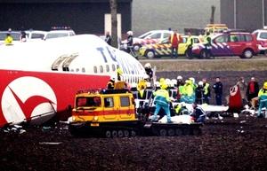 Por lo menos 25 de los heridos estaban graves y que entre ellos había tanto pasajeros como miembros de la tripulación.