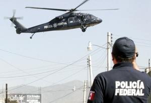 Los arrestados, entre ellos tres mujeres y tres menores, fueron presentados en el Centro de Mando de la Policía Federal Preventiva, en el oriente de Ciudad de México, a donde fueron trasladados en varios helicópteros.