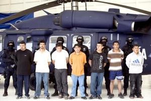 Autoridades mexicanas detuvieron en el estado central de Hidalgo a 14 presuntos integrantes del grupo criminal 'Los Zetas'