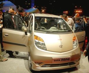Tata tiene previsto lanzar en 2011 una variante europea del Nano, desvelada en la última edición del Salón Internacional del Automóvil de Ginebra.