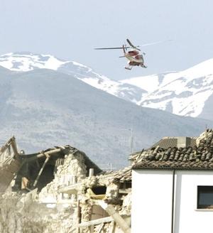 El centro del terremoto fue localizado unos 110 kilómetros al nordeste de Roma.