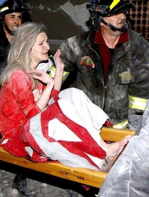 El ministro de relaciones parlamentarias Elio Vito dice que al menos 91 muertes han sido confirmadas.