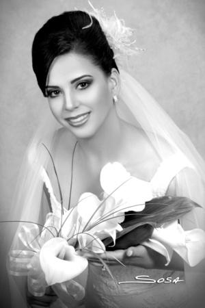 Srita. Blanca María, el día de su boda con el Lic. Paulo Humberto.  Studio Sosa