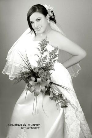 Srita. Lorena Enevy Cruz Hernández el día de su boda con el Ing. José Luis Sosa de la Cruz.  Aldaba & Diane Fotografía